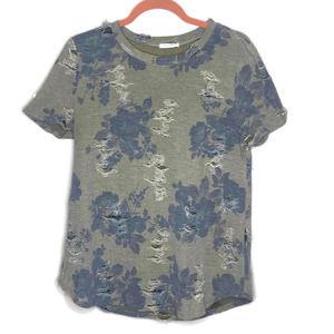 12pm by Mon Ami women's T Shirt Top Blouse Camo M